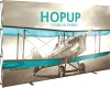 Hopup™ 13ft Full Height Straight Display & Front Graphic