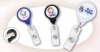 Twist-Free Badge Holders with Swivel Safe-Grip Clips