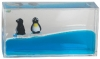 Penguin Mini Wave Paperweight