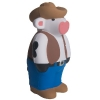 Cowboy Cow Squeezies® Stress Reliever