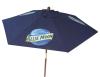 7' Wood Market Umbrella