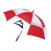 The Challenger II Golf Umbrella w/Checkerboard Panels