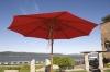 9' Wood Market Umbrella