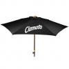 9' Wood Look Market Umbrella