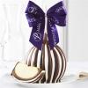 Dark Chocolate Cashew Jumbo Caramel Apple Gift