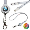 Round Lanyard Charging cord with Type C