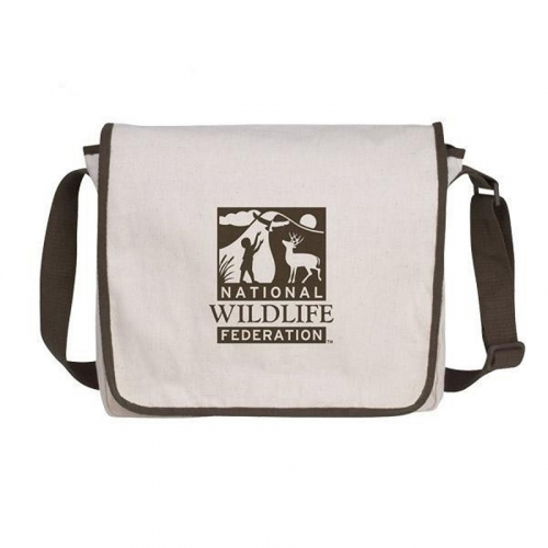 V Natural™ Recycled Cotton Messenger Bag
