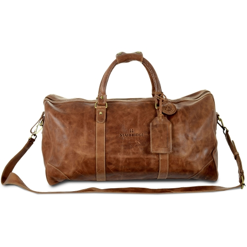 Westbridge Large Leather Duffel Bag