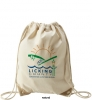 Natural Economy Drawcord Sport Pack Backpack
