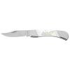 Snowbird - White Bone Lock Back Folding Knife