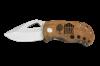 Maple Burl Fat Boy - Wooden Pocket Knife