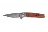 Wildcat - Damascus & Rosewood Folding Knife