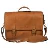 Jefe - Leather Messenger Briefcase