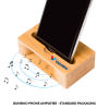 Bamboo Phone Amplifier with Standard Packaging