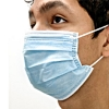 Disposable Pleated Surgical Mask (Blank)