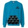 Campus Crew Neck Sweatshirt with Custom Kangaroo Pocket