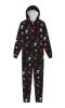 Adult Pajama One Piece w/Allover Print