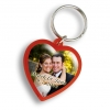 Heart Shaped Love Custom Keychain