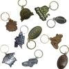 Antiqued Diestruck Keychains