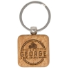 Wood Keychains - Square