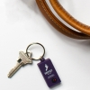 PVC Fob with Keyring or Zipper Pull - 1 1/2