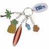Tropical Charm Keychain