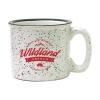 15 oz. White Campfire Mug