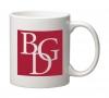 11 oz. White C Handle Mug