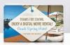 Digital Movie Rental Card - 1 Digital Movie