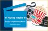 Movie Ticket Card - 2 Movie Tickets