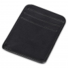 Money Clamp™ Black Leather Wallet