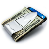 Money Clamp™ Geneva Silver Mesh Money Clip