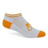 Import Athletic Moisture Wicking Low-Cut Socks w/Knit-In Logo
