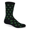 Import Full Cushion Moisture Wicking Crew Sock w/Knit-In Logo
