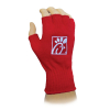 Fingerless Knit Gloves w/Direct Embroidery